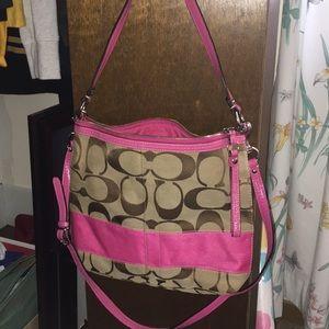 Handbags - Pink Coach Purse
